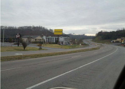 #98-100 top panel Highway 66–1/4 mile South of  Exit 407