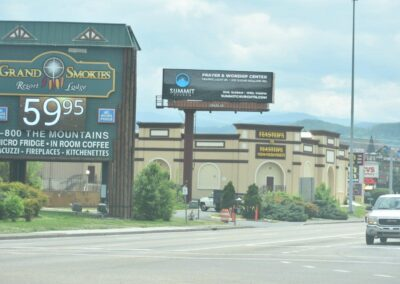 2389 Parkway, Pigeon Forge, TN 37863.